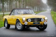 Mercedes-Benz 250 SL restoration & rally preparation